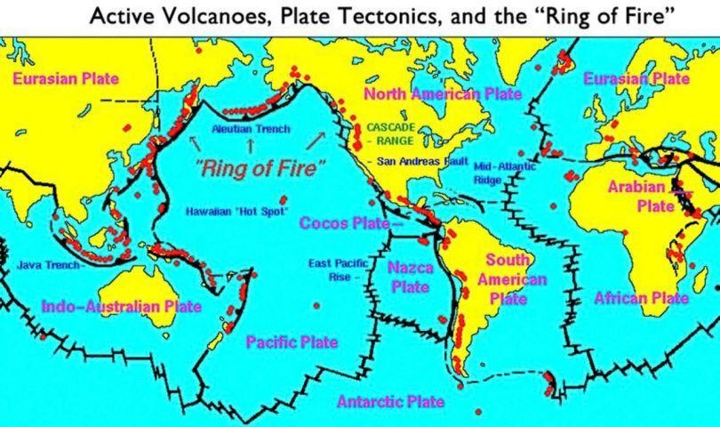 Ceinture de feu du Pacifique - 1