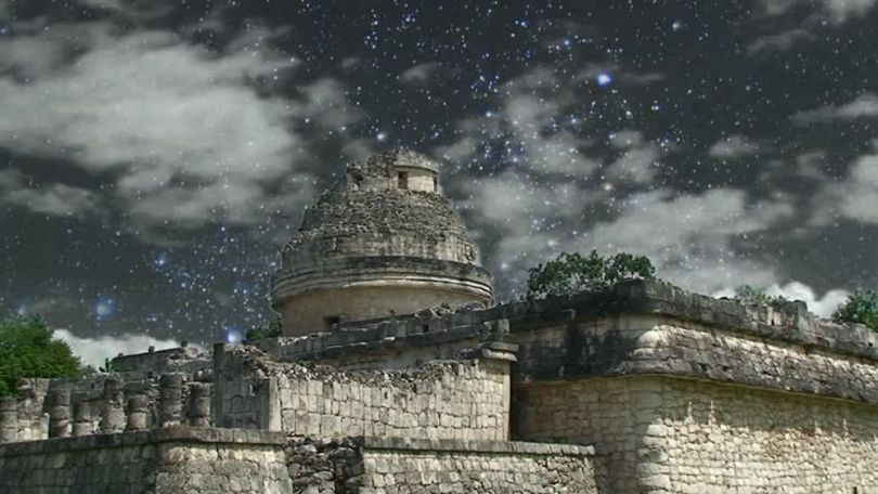 "L'observatoire"" à Chich_en Itza - Maya - 2"