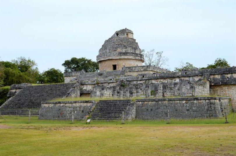"L'observatoire"" à Chich_en Itza - Maya"