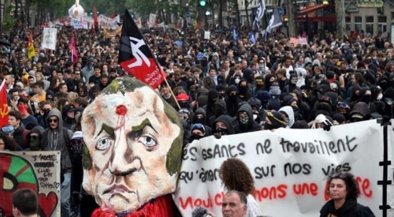 manifestation anti-Macron - 2