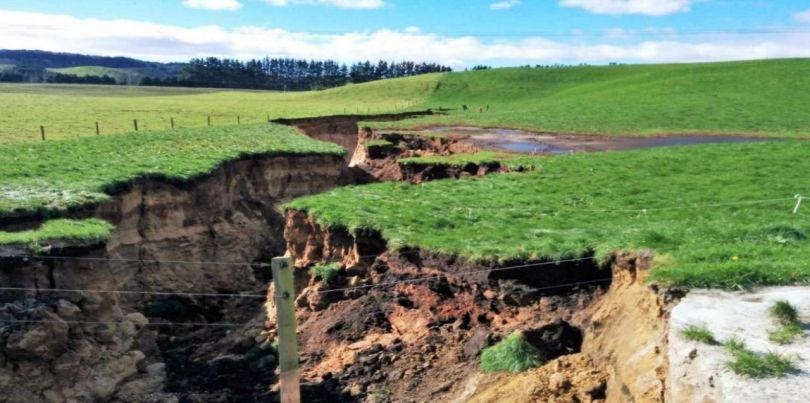 Massive sinkhole - Nouvelle-Zélande - 2