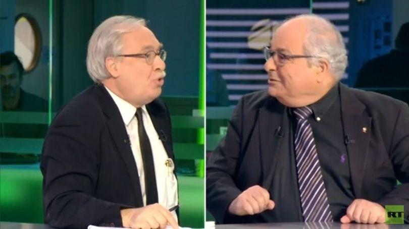 Richard Labévière et Richard Abitbol