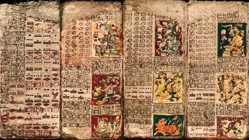 Textes hiéroglyphiques Maya - 1