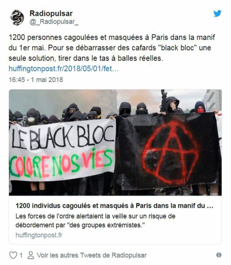 Twitte - Black Blocs - 1