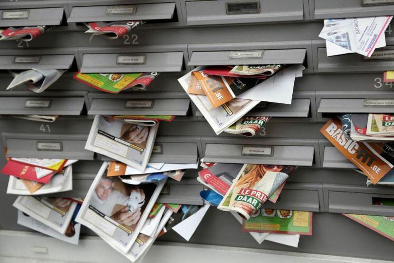 Boîte aux lettres - Publicité