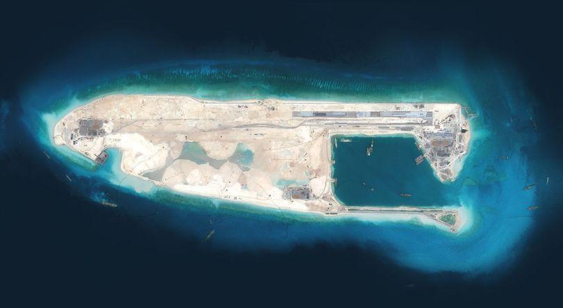 Îles militarisées - Chine