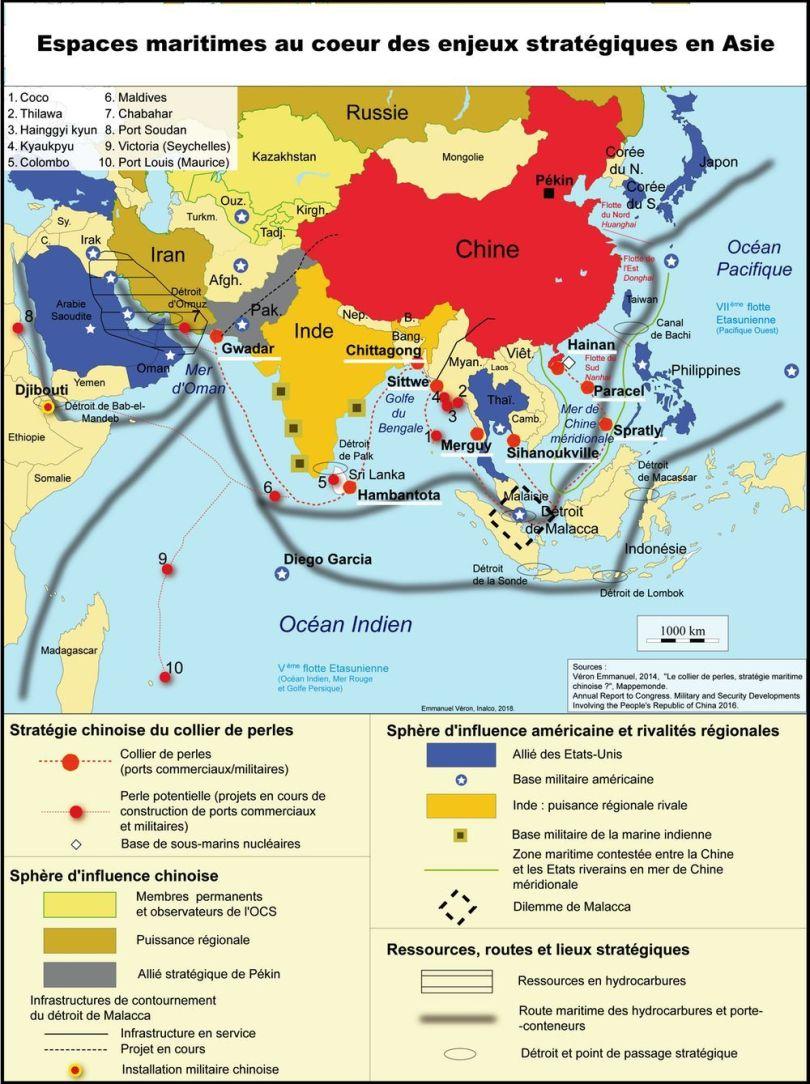 Îles militarisées - Mer de Chine