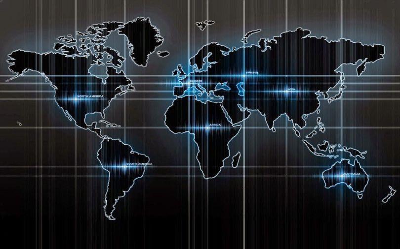 Map - Carte - Mode - World