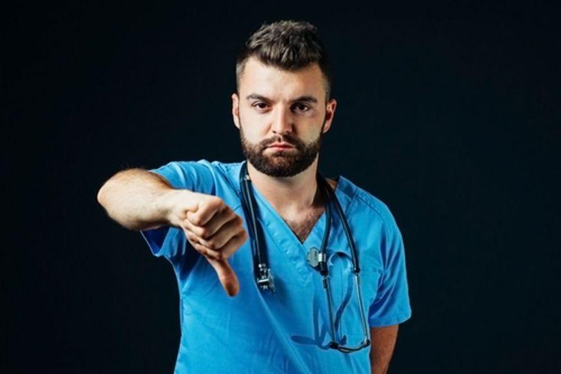Médecin - Pousse en bas