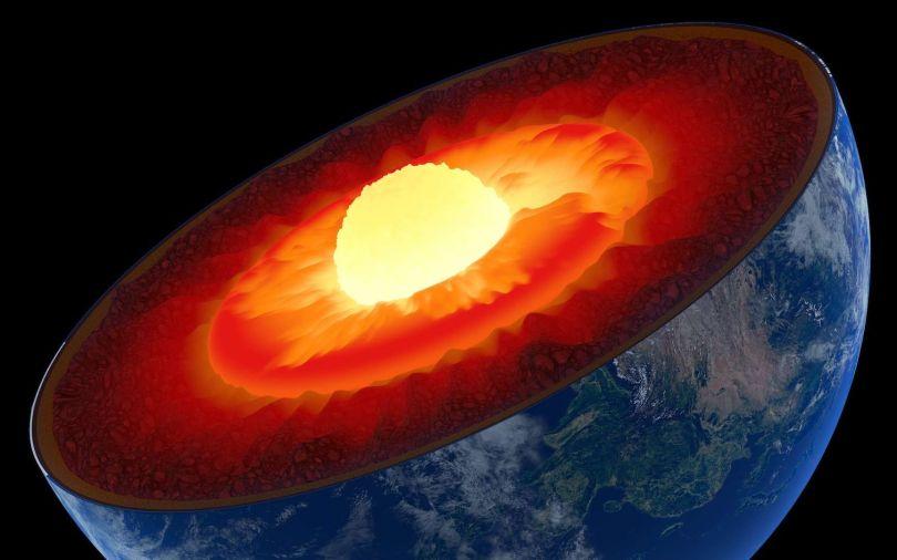 Noyau terrestre - 1