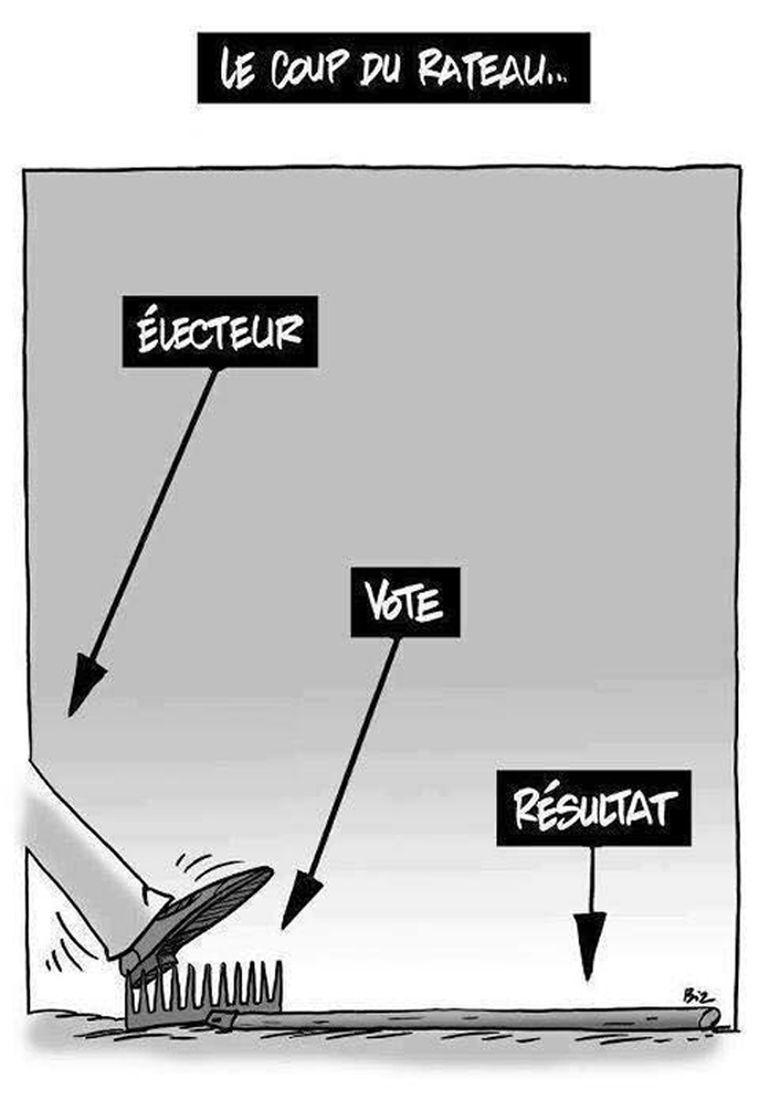 Rateau - Démocratie