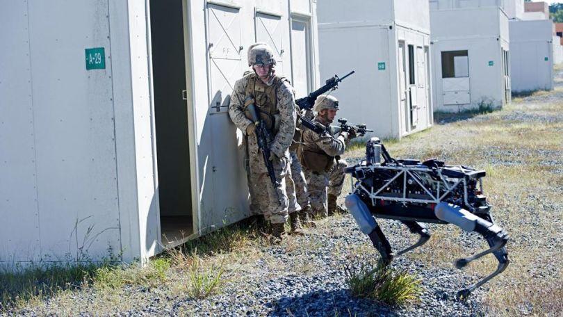 Spot - Chien robot - Armée