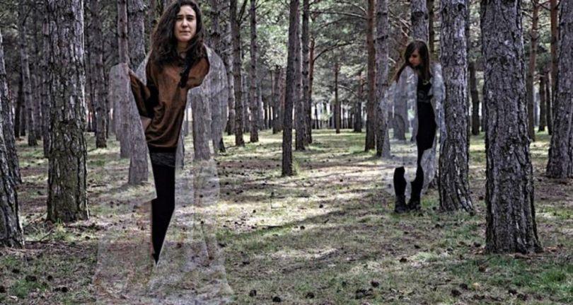 Cape invisibilité - Femme