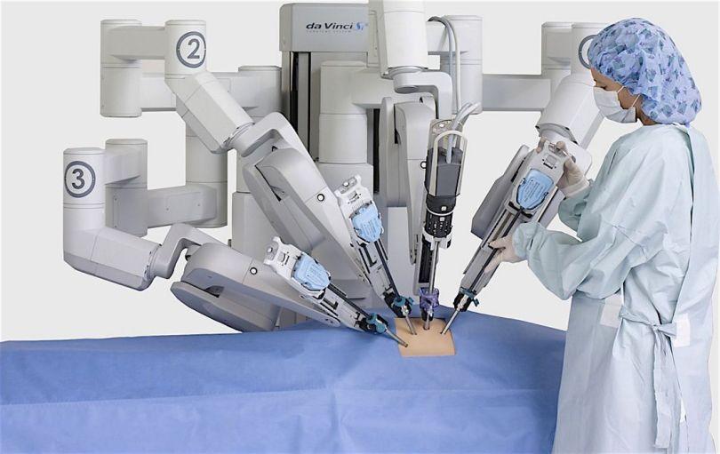 Da Vinci – Robot – Chirurgie - 4
