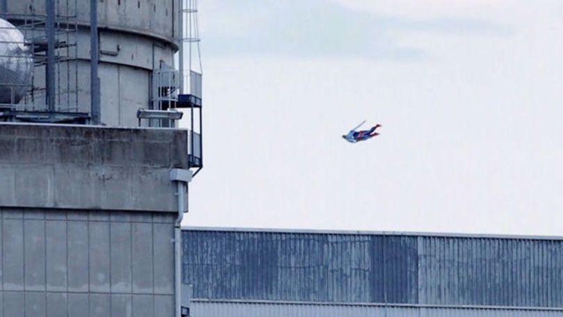 Drone Superman - Centrale nucléaire du Bugey - 2