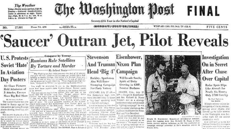 Journal - UFO - Washington DC - 1952