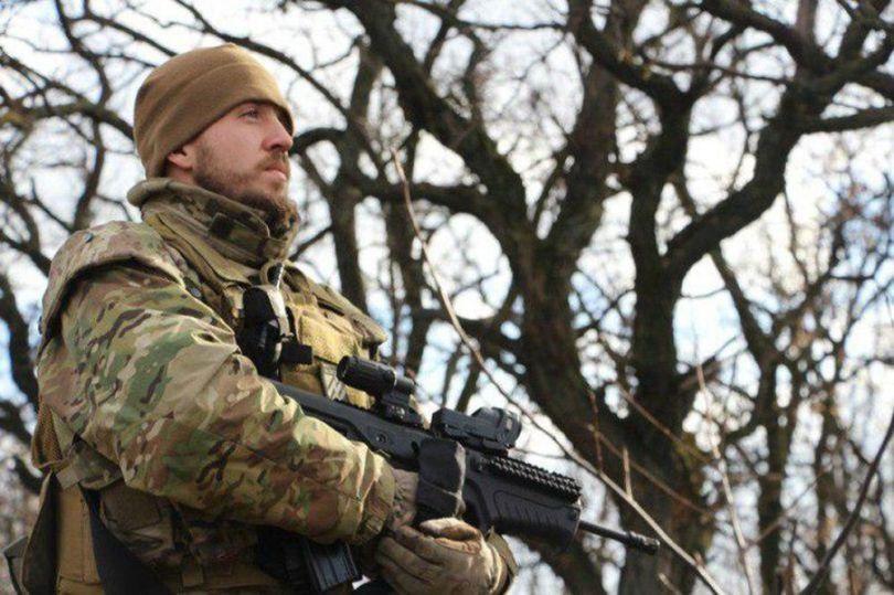 Officier de la milice néonazie