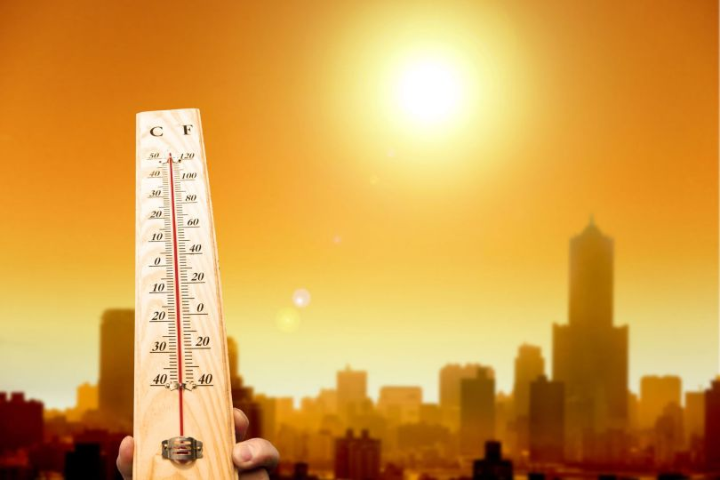 Thermomètre - Canicule - Ville