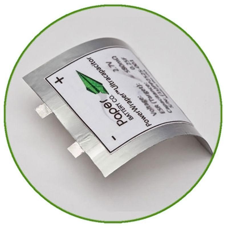 Batteries en papier - 2