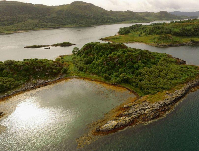 Ecosse - Eilean Nan Gabhar - Île des chèvres - 3