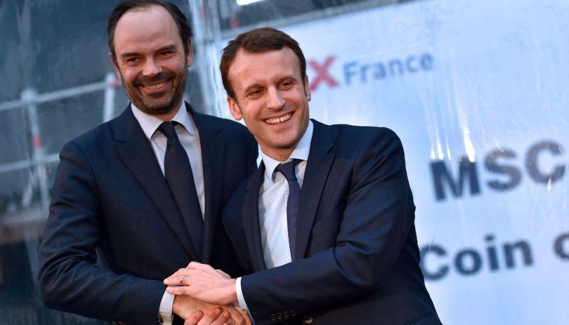 Edouard Philippe & Emmanuel Macron