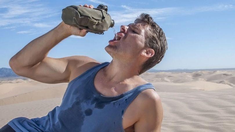 Homme - Déshydratation - 2