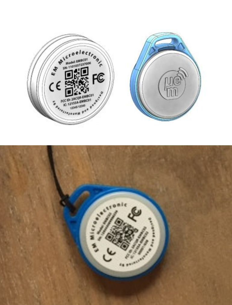 Porte-clefs Bluetooth - 1