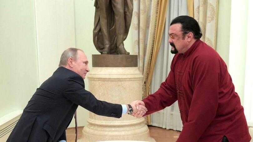 Steven Seagal - Vladimir Poutine - 1