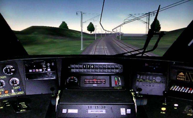 Cabine TGV