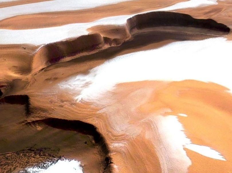 Calotte polaire nord de Mars
