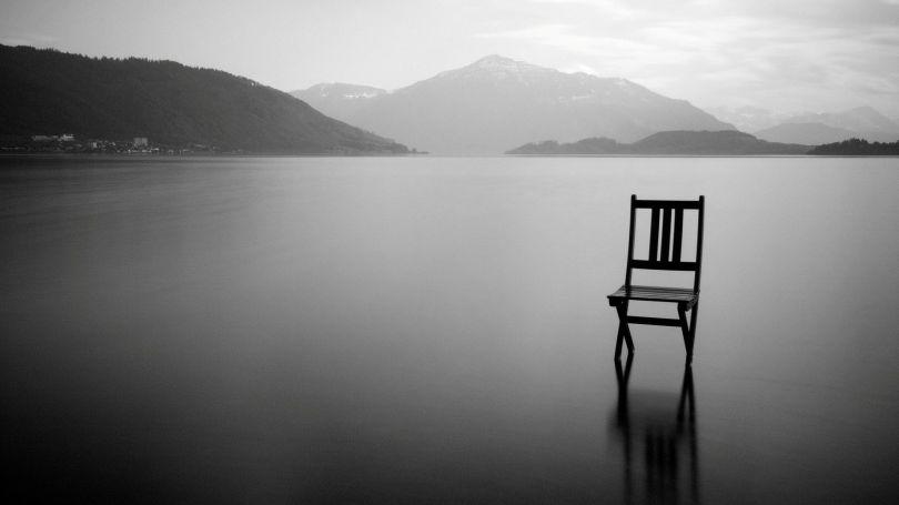 Chaise - Grand espace vide