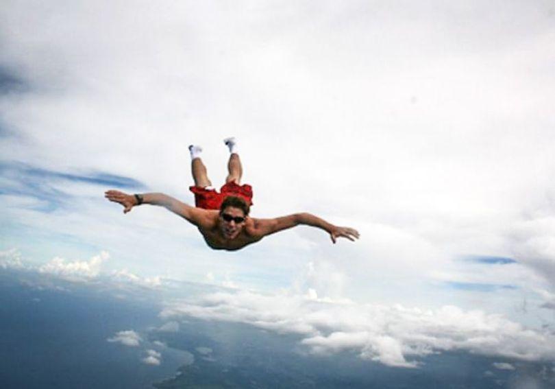 Chute libre – Avion - A