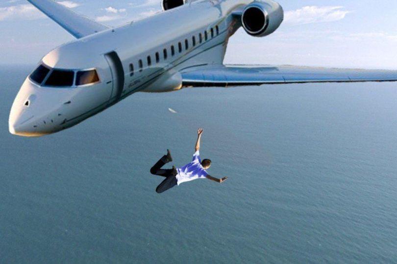 Chute libre – Avion - B