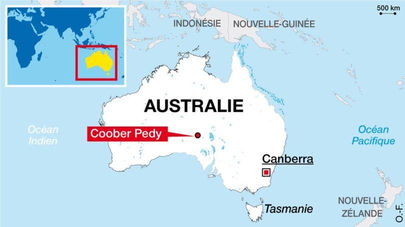 Coober Pedy - Map