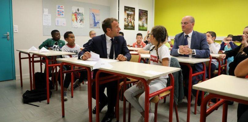 Emmanuel Macron & Jean-Michel Blanquer