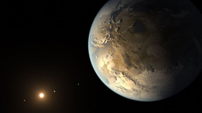 Exoplanète - Concept