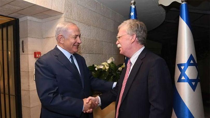 John Bolton & Benyamin Netanyahou