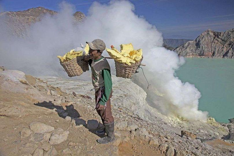 Minerais de soufre - Mineur
