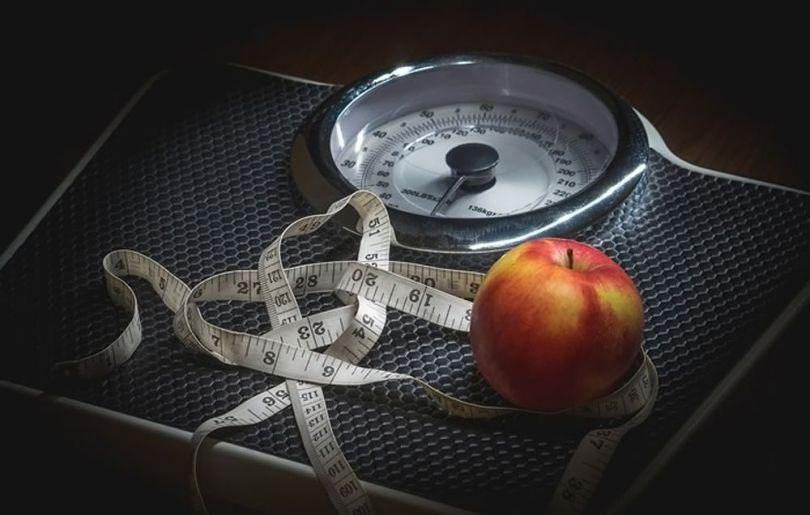 Pèse-personne - Pomme - Centimètre