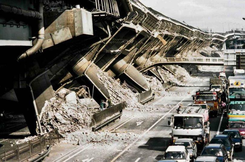Pont - Tremblement de terre