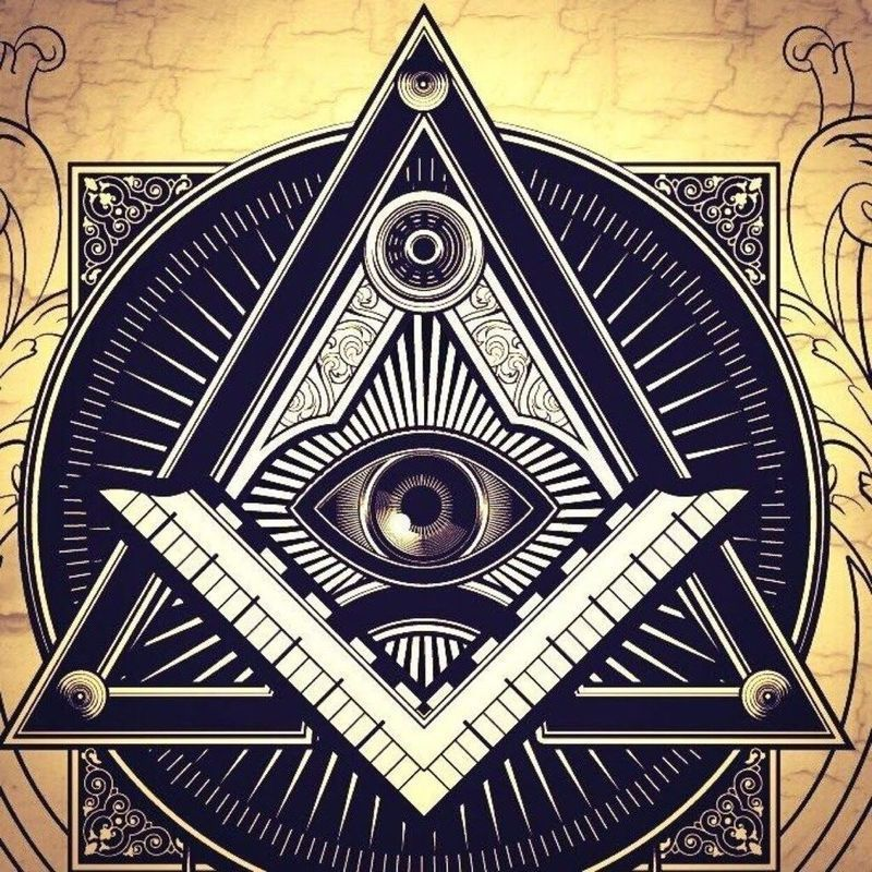 Pyramide – Franc-Maçonnerie- Œil