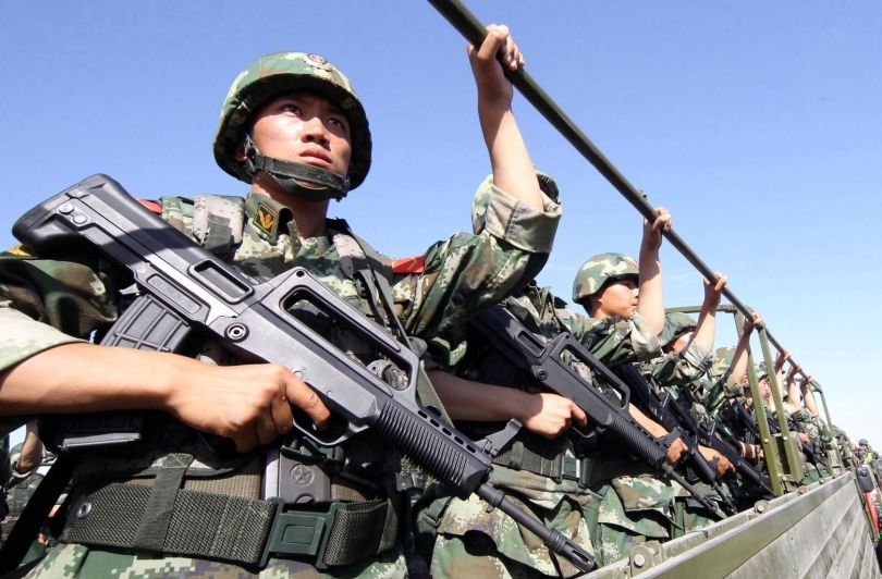 Soldats chinois - 1