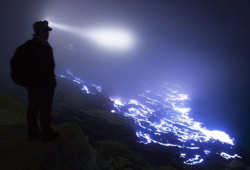 Volcan Kawah Ijen – Lave bleue - 2
