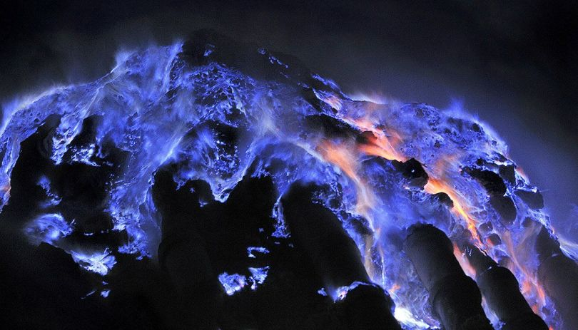 Volcan Kawah Ijen – Lave bleue - 3