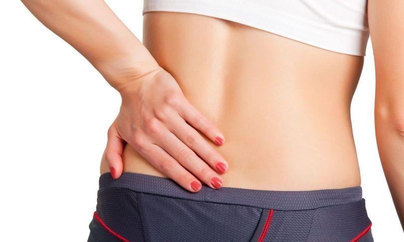 Femme - Douleur - Bas du dos