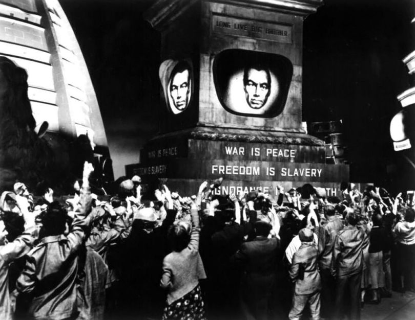 Freedom is slavery - Orwell
