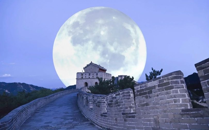 Lune - Moon - Chine - 1