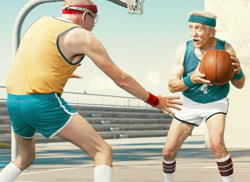 Personnes âgés - Basket