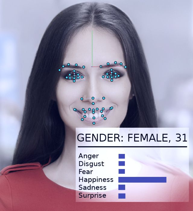 Reconnaissance faciale - Femme - 2