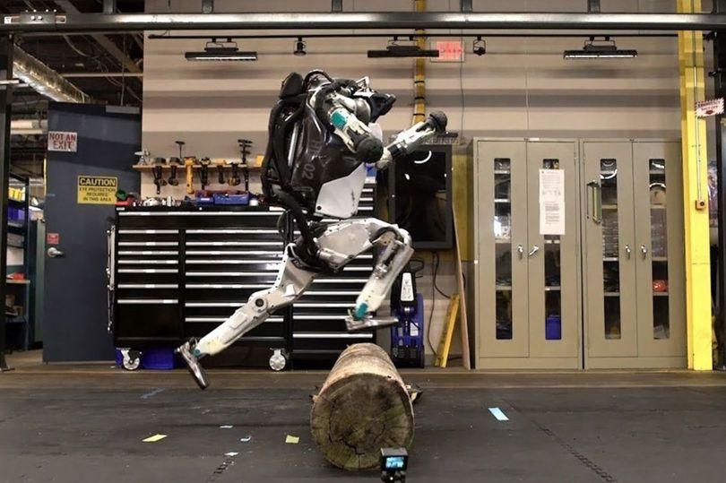 Robot – Atlas –Parcours - 1